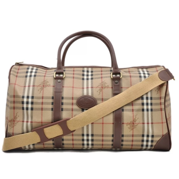 7ba4275aa0ea Burberry Handbags - Authentic Burberry travel bag  Weekender bag